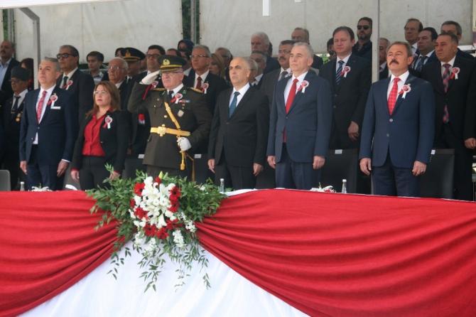 Denizli'de 29 Ekim Cumhuriyet Bayramı coşkuyla kutlandı