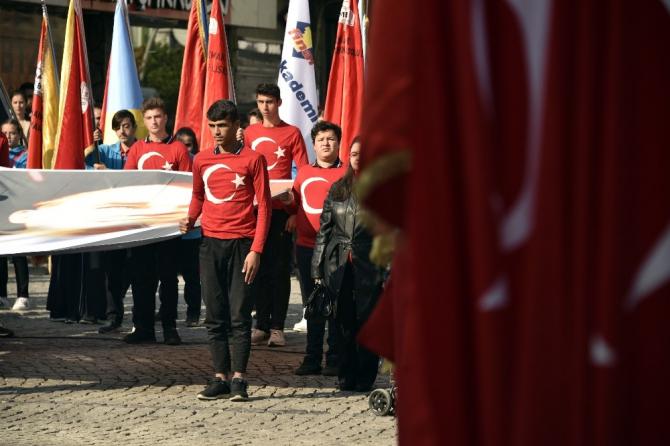 Gümüşhane'de Cumhuriyet Bayramı kutlanıyor