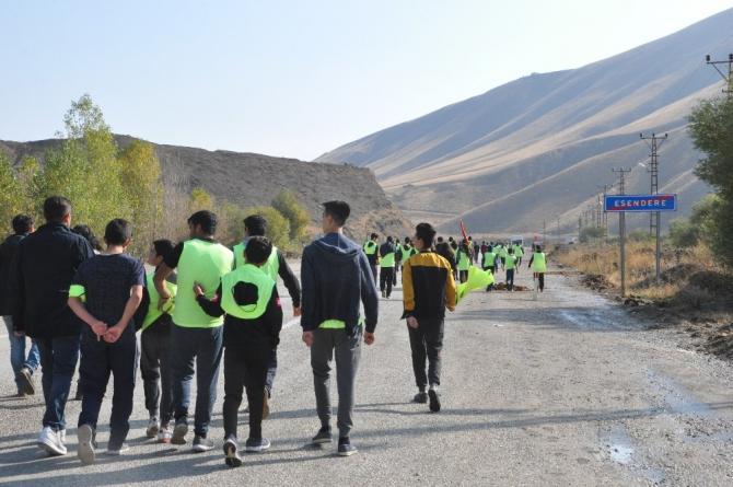 İran sınırında atletizm yarışması