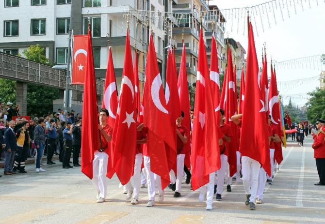Hatay'da Cumhuriyet Bayramı kutlamaları