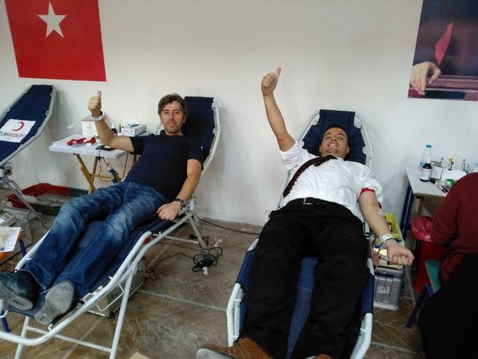 İsmet İnönü İlkokulu'ndan kan bağışı