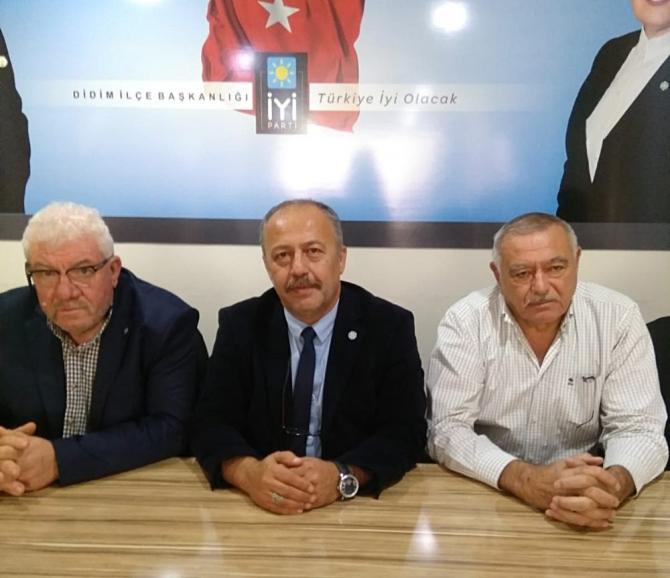 İYİ Parti Didim İlçe Başkanı görevinden istifa etti