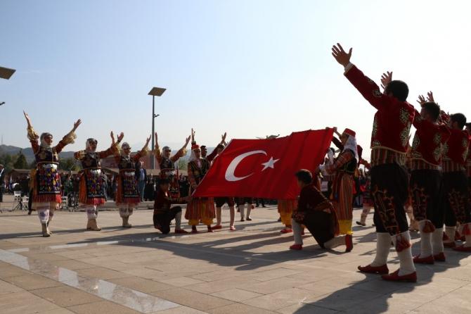 """Karabük'te """"Cumhuriyet Bayramı"""" coşkuyla kutlandı"""