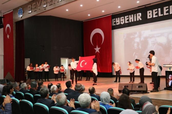 Beyşehir'de 29 Ekim Cumhuriyet Bayramı coşkusu