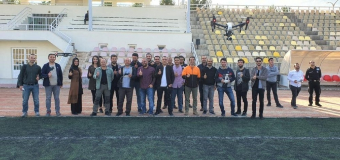 Malatya'da drone kursu verildi