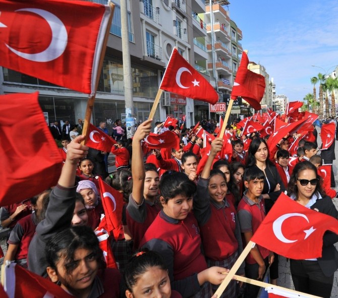 Osmaniye'de Cumhuriyet Bayramı coşkuyla kutlandı