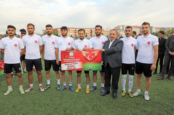 Üniversiteler Arası Cumhuriyet Kupası sona erdi