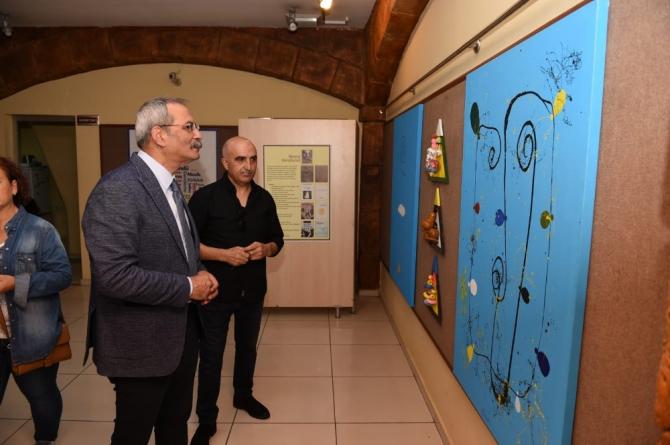 Remzi Karabulut'tan 'topaç' temalı resim sergisi