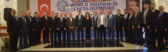 Dünya 16 Yaş Altı Satranç Olimpiyatları başladı