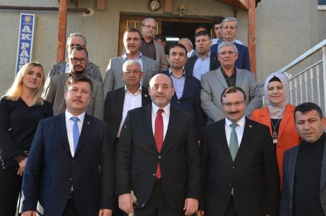 Emet'te ilçe danışma meclisi toplantısı
