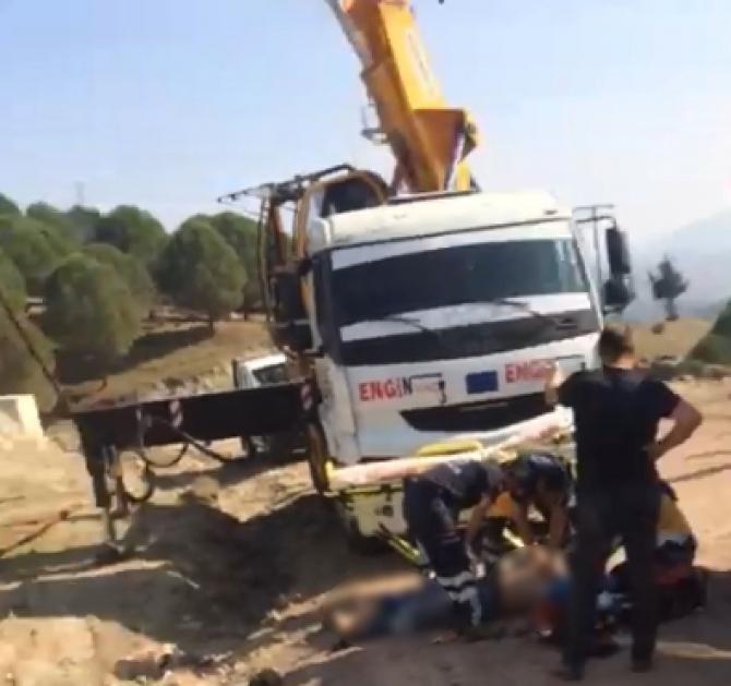 Balıkesir'de elektrik akımına kapılan işçi öldü