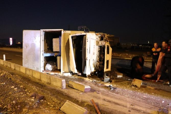 Kahramanmaraş'ta feci kaza: 3 yaralı