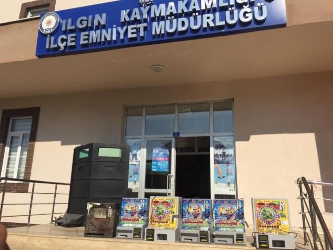 Konya polisinden kumar operasyonu