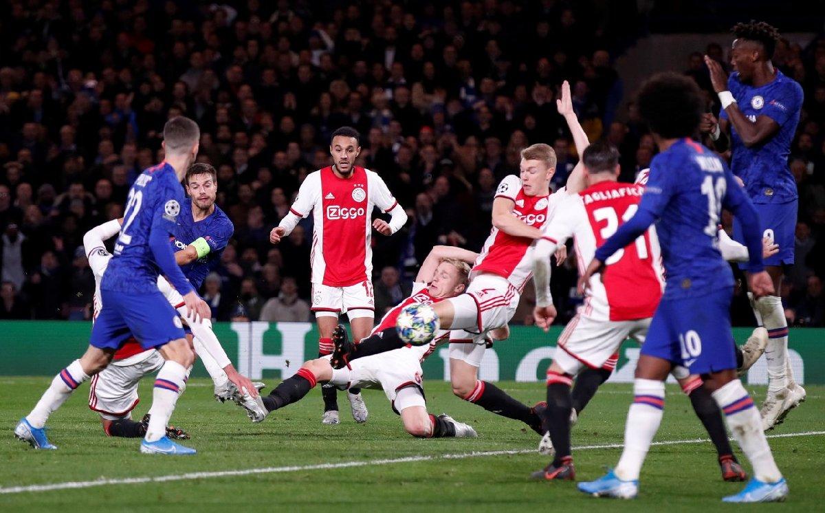 Şampiyonlar Ligi'nde tarihi maç! Ajax ve Chelsea nefes kesti…