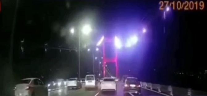 """İstanbul'da dehşete düşüren """"makas"""" terörleri kamerada"""