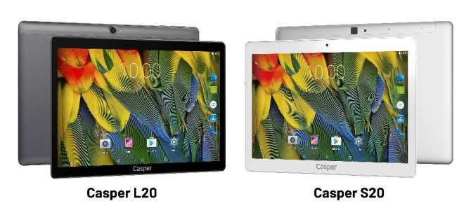 Casper'dan iki yeni tablet