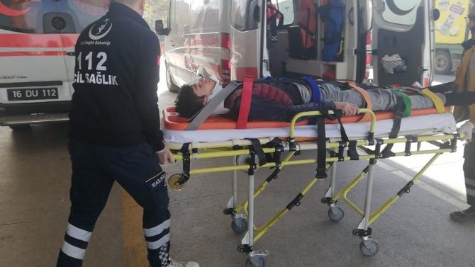 Dehşet veren kaza: 2 ağır yaralı
