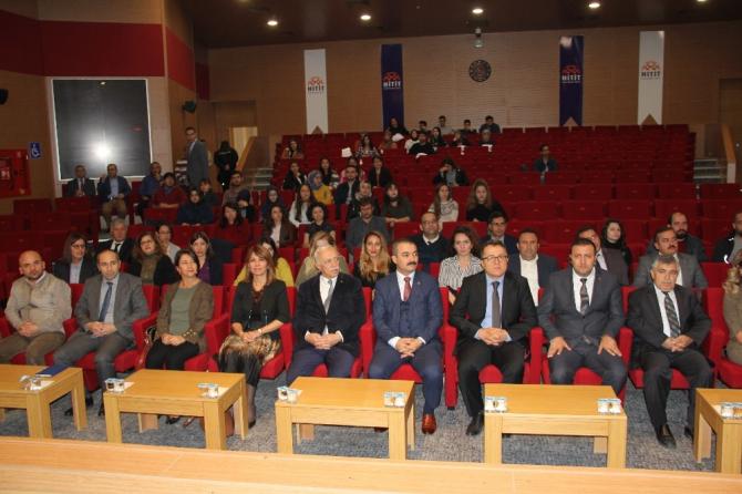 """Hitit Üniversitesinde """"Tek sağlık"""" paneli"""