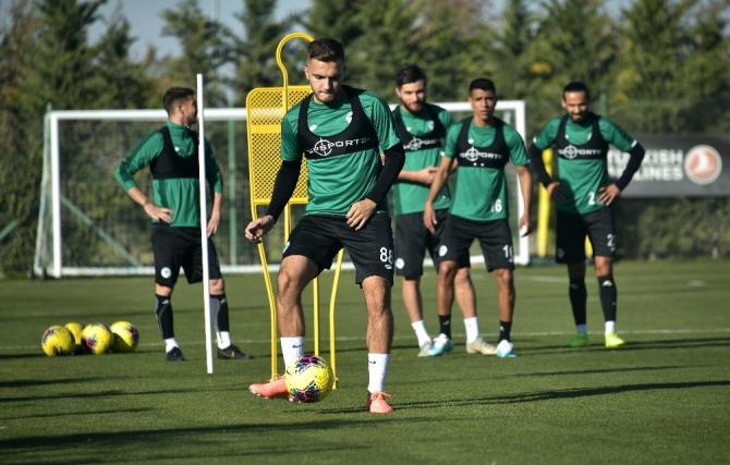 Konyaspor, Sivasspor maçı hazırlıklarına devam etti