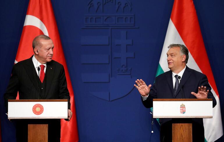 Cumhurbaşkanı Erdoğan ile Macaristan Başbakanı Orban'dan ortak basın toplantısı