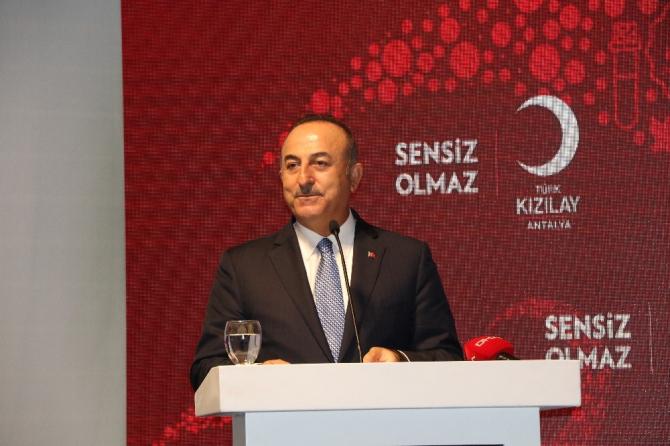 """Bakan Çavuşoğlu: """"Terör devleti kurmak isteyenlerin oyununu başlarına devirdik"""""""