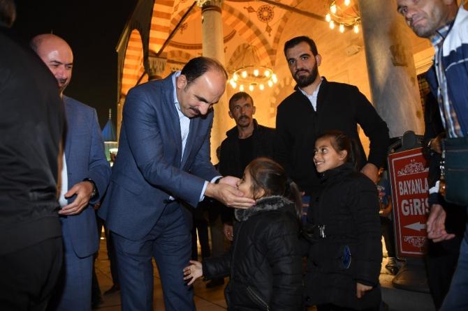 Başkan Altay, Mevlid Kandilinde vatandaşlarla buluştu