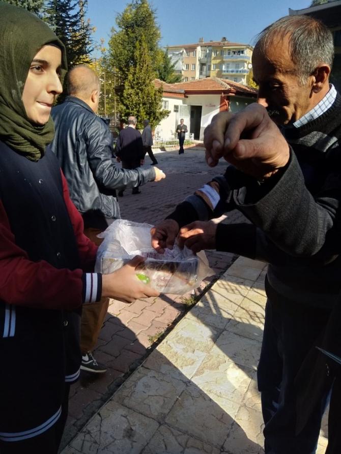 Öğrenciler Mevlidi Nebevi Haftasını kutladı