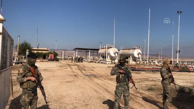 ABD ve PKK Türkiye sınırında yakalandı Görüntüler yayılandı