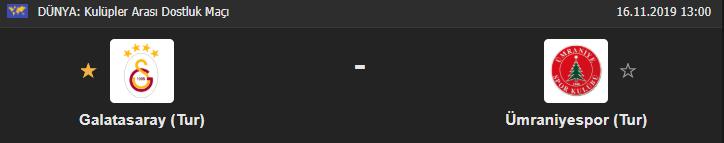 Galatasaray - Ümraniyespor maçı canlı ne zaman, hangi kanalda, saat kaçta?
