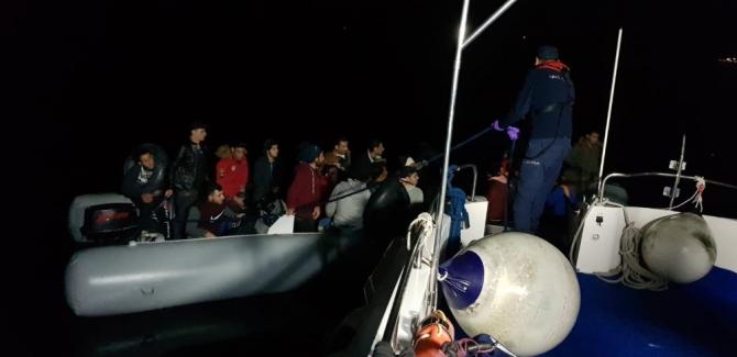 Aydın'da kaçak göçmen operasyonu