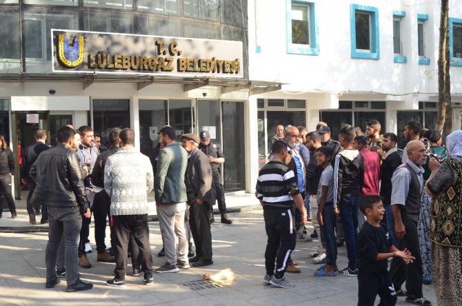 Lüleburgaz'da 'at arabası' gerginliği