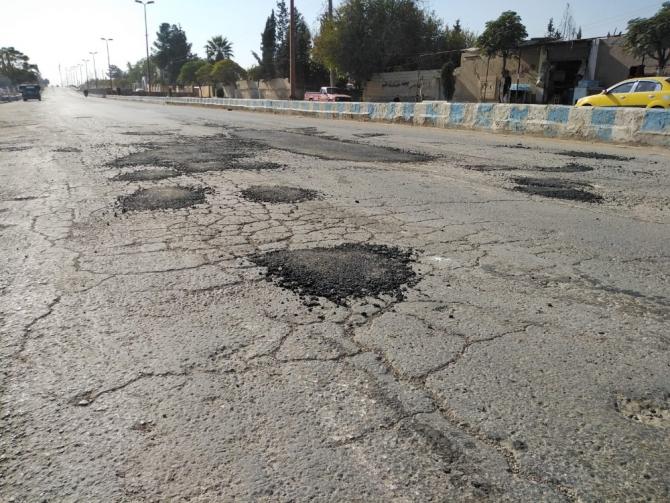 SMO'dan Tel Abyad'a yol çalışması