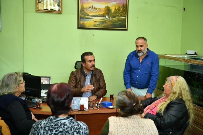 """Çetin: """"Her an ulaşılabilir bir başkan olmayı sürdüreceğim"""""""