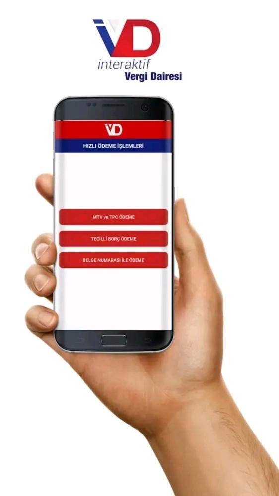 Gelir İdaresi Başkanlığı'nın GİB mobil uygulaması vatandaşın işini kolaylaştırıyor