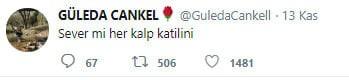 Güleda'nın öldürülmeden önce yaptığı paylaşım duygulandırdı