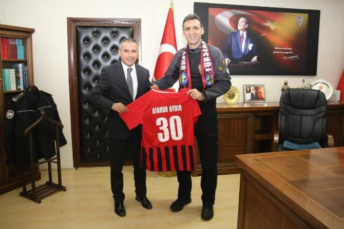 Başkan Yıldırım'dan Müdür Aydın'a ziyaret