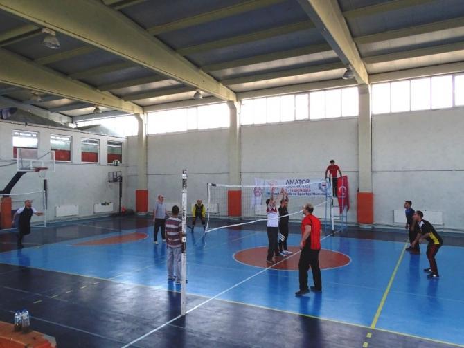 Hisarcık'ta Voleybol Turnuvası