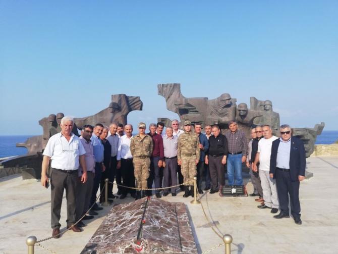 Salihlili muhtarlar Kuzey Kıbrıs'ı gezdi