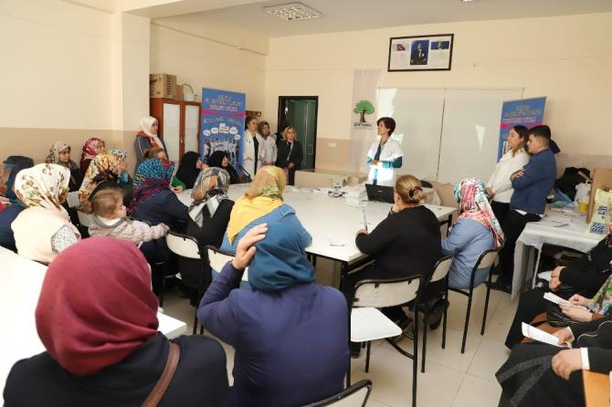 Şehitkamil'den kursiyerlere diyabet semineri