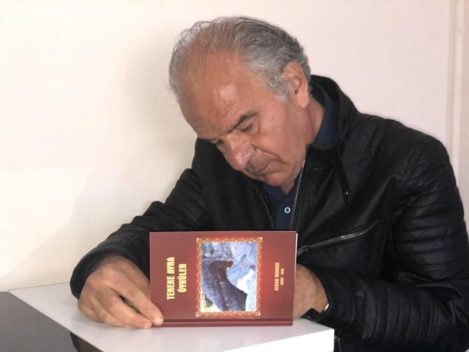 Siirtli yazarın öykü kitabı yayımlandı