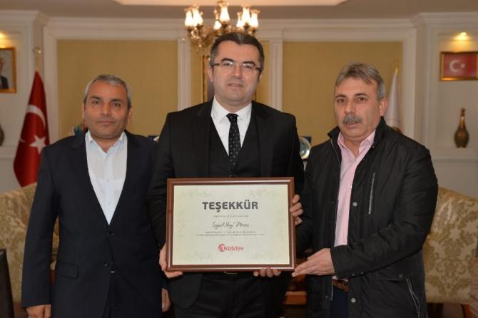 Türkiye Gazetesi'nden Vali Memiş'e ziyaret