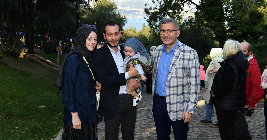 Başkan Hilmi Türkmen Üsküdarlılarla Millet Bahçesinde buluştu