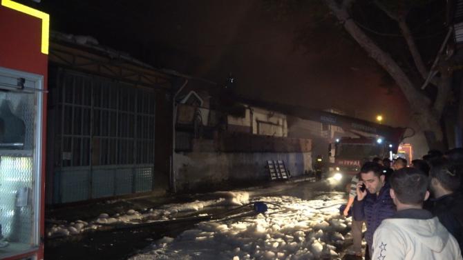Denizli'de akşam saatlerinde çıkan yangın 4 saatte kontrol altına alındı