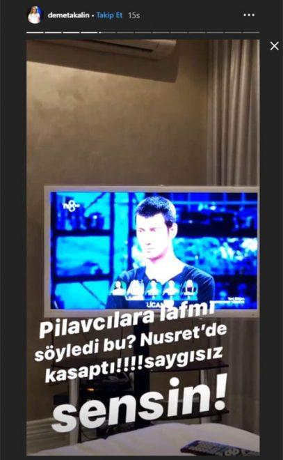 Demet Akalın'dan Masterchef Kıvanç'a zehir zemberek sözler