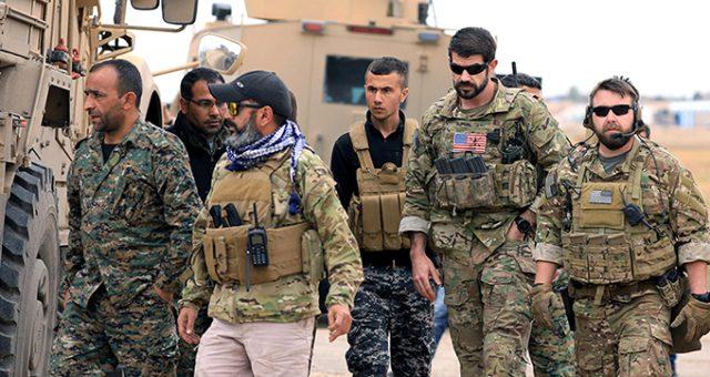 """ABD, """"Suriye'den çekileceğiz"""" demesine rağmen teröristlerle ortak operasyona başladı!"""