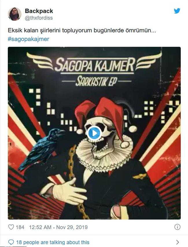 Sagopa Kajmer yeni albümündeki şarkısı Toz Taneleri ile gündeme oturdu