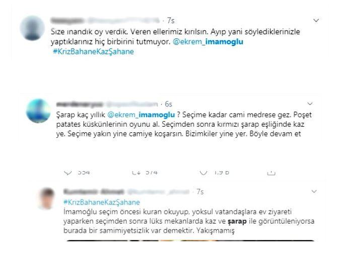 İBB Başkanı Ekrem İmmaoğlu'nun içki masası sosyal medyada büyük tepki çekti!