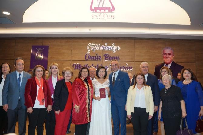 Nevzat Biçer Nikah Salonu, Kadın Hakları Günü'nde açıldı