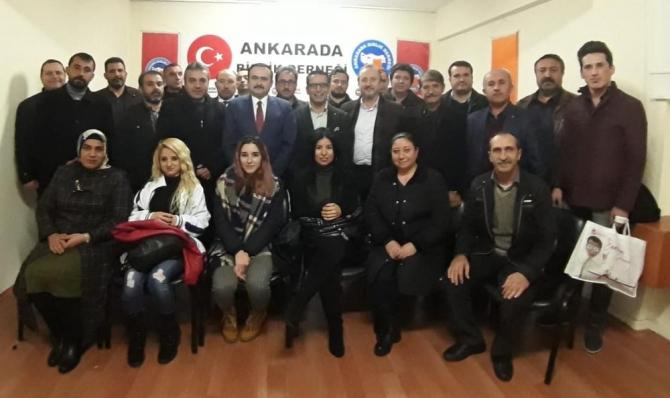 Ankara'da Birlik Derneği'nden 'Ağız ve Diş Sağlığı' konulu söyleşi