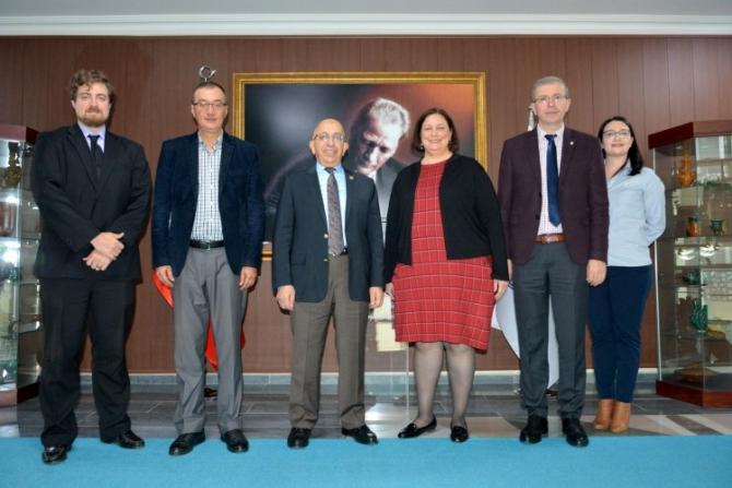ABD İstanbul Başkansolosu'ndan Rektör Prof. Dr. Sedat Murat'a ziyaret